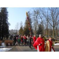 procesja wbedoniu zpalma przygotowana przez kgw weufeminowie